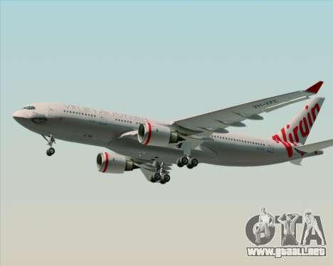 Airbus A330-200 Virgin Australia para la visión correcta GTA San Andreas