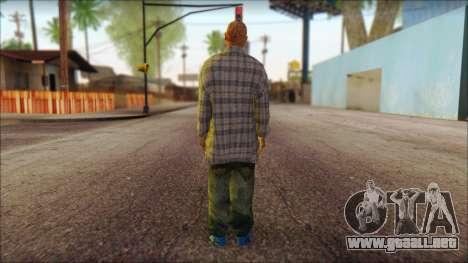 Los Aztecas Gang Skin v1 para GTA San Andreas segunda pantalla