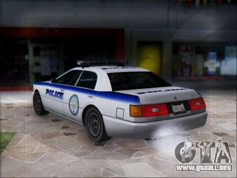 Admiral Police para la visión correcta GTA San Andreas