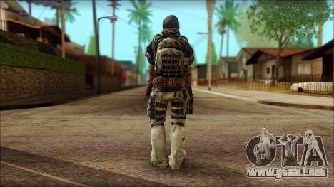 Veterano (M) v2 para GTA San Andreas segunda pantalla