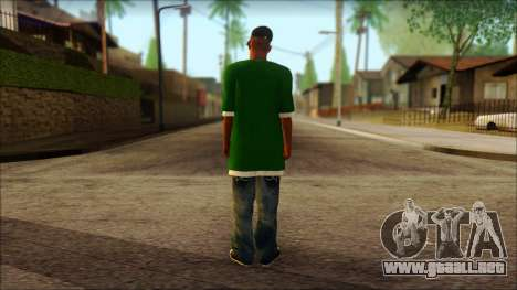 Sweet v2 para GTA San Andreas segunda pantalla
