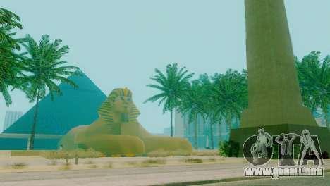 Nuevas texturas de la pirámide en Las Venturas para GTA San Andreas segunda pantalla