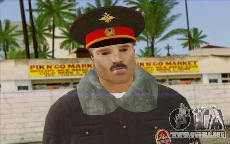 La Policía De Rusia, La Piel De 1 para GTA San Andreas tercera pantalla