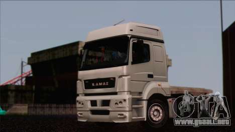 El KamAZ-5490 para GTA San Andreas