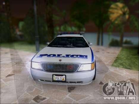 Admiral Police para GTA San Andreas left