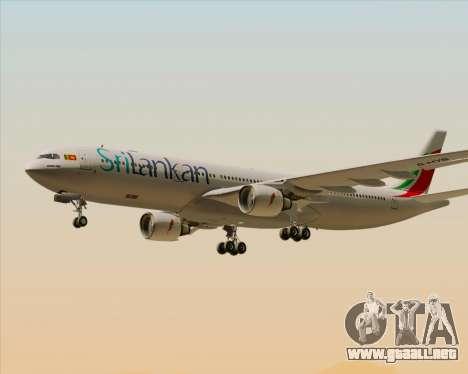 Airbus A330-300 SriLankan Airlines para el motor de GTA San Andreas