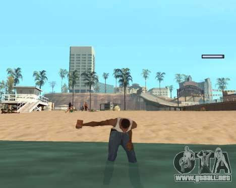 En el aire! para GTA San Andreas sexta pantalla
