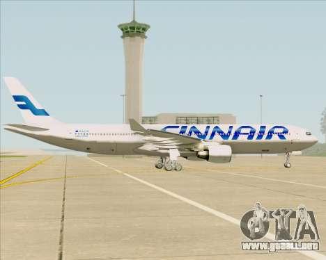 Airbus A330-300 Finnair (Current Livery) para visión interna GTA San Andreas