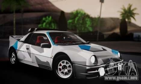 Ford RS200 Evolution 1985 para el motor de GTA San Andreas