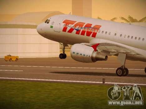 Airbus A320-214 TAM Airlines para GTA San Andreas
