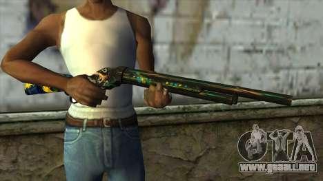 M1887 from PointBlank v2 para GTA San Andreas tercera pantalla