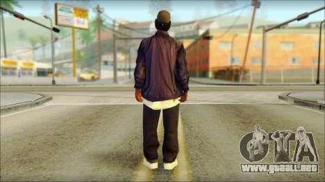 Eazy-E Blue Skin v1 para GTA San Andreas segunda pantalla