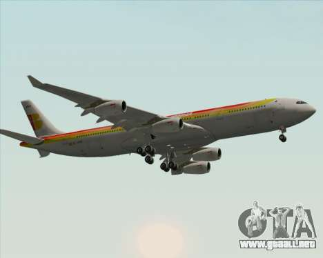 Airbus A340 -313 Iberia para visión interna GTA San Andreas