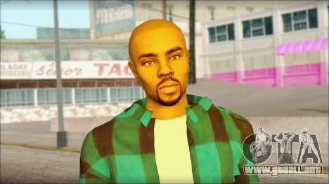 Los Aztecas Gang Skin v3 para GTA San Andreas tercera pantalla