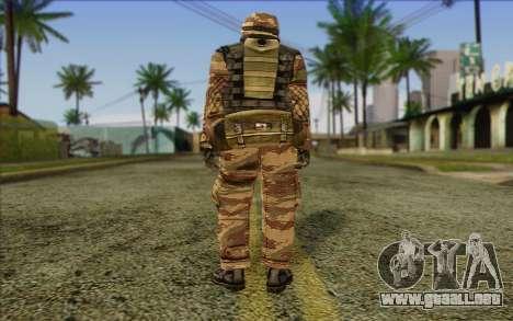 Soldados de MEK (Battlefield 2) de la Piel 6 para GTA San Andreas segunda pantalla