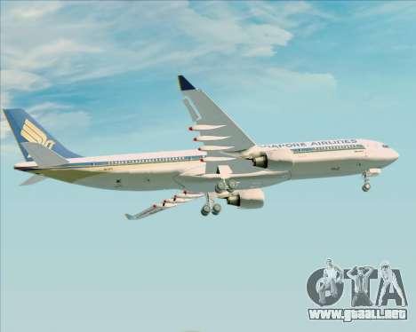 Airbus A330-300 Singapore Airlines para el motor de GTA San Andreas