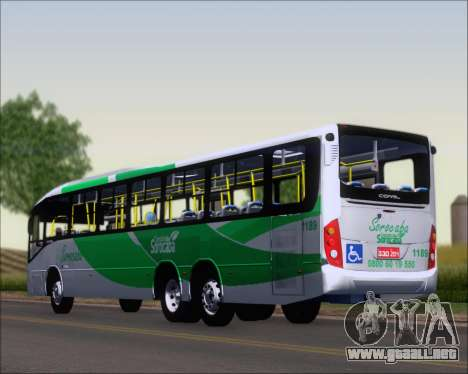 Comil Svelto BRT Scania K310IB 6x2 Sorocaba para GTA San Andreas left