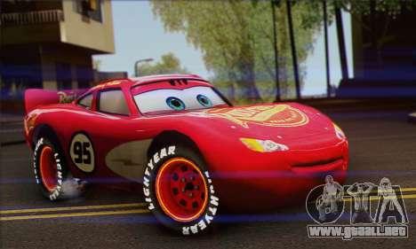 Lightning McQueen Radiator Springs para GTA San Andreas