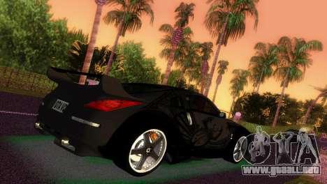 Nissan 350Z Veiside DK para GTA Vice City left
