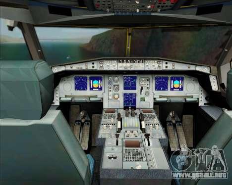 Airbus A330-300P2F DHL para GTA San Andreas interior
