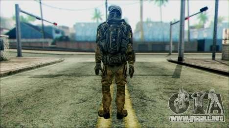 Soldados de equipo Fantasma 2 para GTA San Andreas segunda pantalla