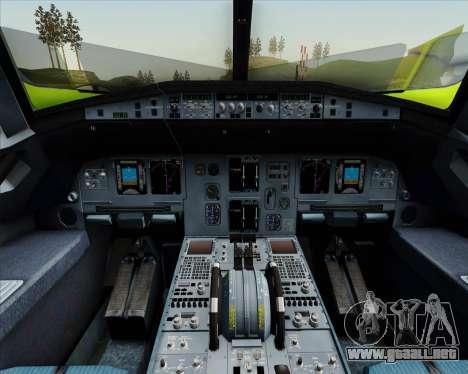 Airbus A320-214 S7-Siberia Airlines para el motor de GTA San Andreas