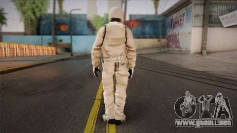 The Stig from Top Gear para GTA San Andreas segunda pantalla