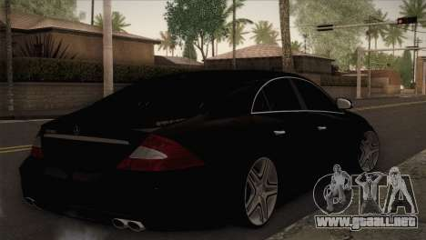 Mercedes-Benz CLS 350 para GTA San Andreas left
