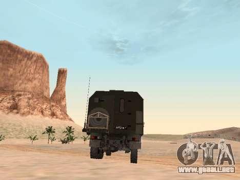 ZIL 131 Kung para la visión correcta GTA San Andreas