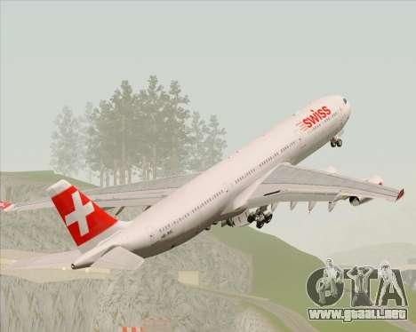Airbus A340-313 Swiss International Airlines para el motor de GTA San Andreas