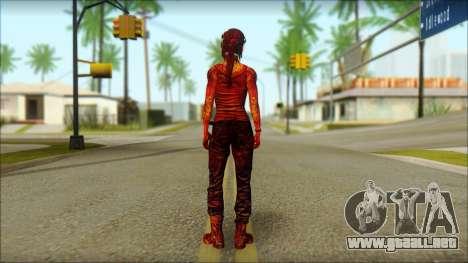 Tomb Raider Skin 9 2013 para GTA San Andreas segunda pantalla