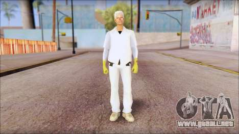 Doc with Radiation Protection Suit para GTA San Andreas