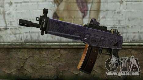 Graffiti MP5 para GTA San Andreas
