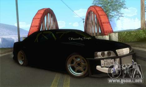 Toyota Chaser Drift 2JZ-GTE para GTA San Andreas