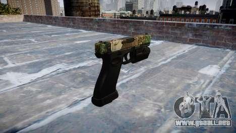 Pistola Glock 20 ronin para GTA 4 segundos de pantalla