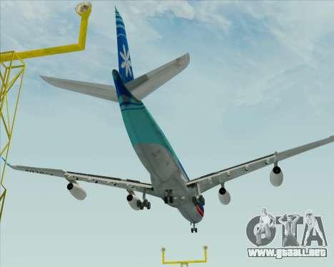 Airbus A340-313 Air Tahiti Nui para GTA San Andreas