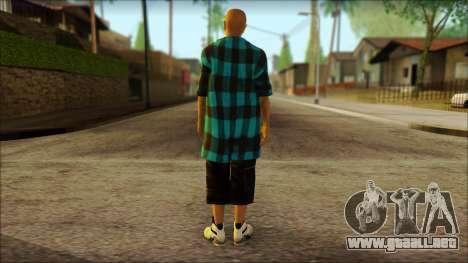 Los Aztecas Gang Skin v3 para GTA San Andreas segunda pantalla