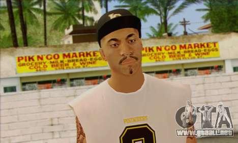 Vagos from GTA 5 Skin 1 para GTA San Andreas tercera pantalla