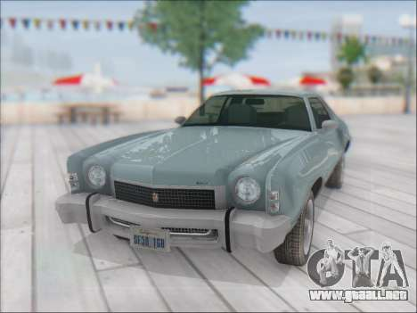 Chevrolet Monte Carlo 1973 para GTA San Andreas