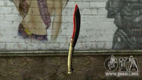 Fang Blade from PointBlank v1 para GTA San Andreas segunda pantalla