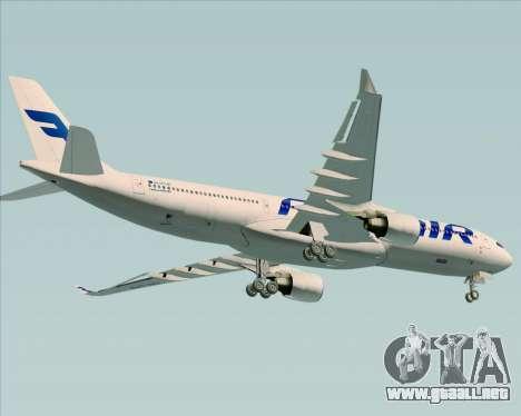 Airbus A330-300 Finnair (Current Livery) para las ruedas de GTA San Andreas