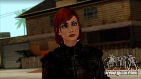 Mass Effect Anna Skin v9 para GTA San Andreas tercera pantalla