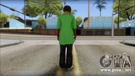 Snoop Dogg Mod para GTA San Andreas segunda pantalla