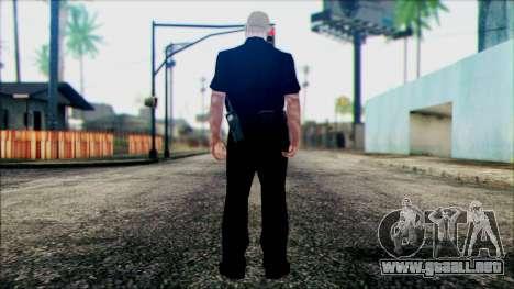 El oficial Carver de Escena para GTA San Andreas segunda pantalla