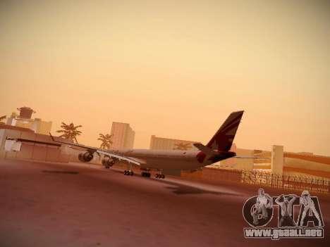 Airbus A340-600 Qatar Airways para la visión correcta GTA San Andreas