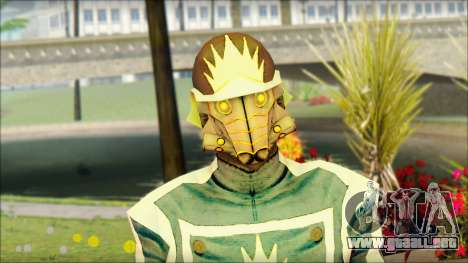Guardians of the Galaxy Star Lord v1 para GTA San Andreas tercera pantalla