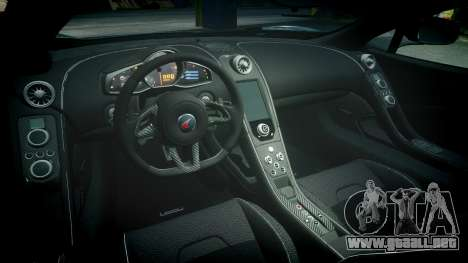 McLaren 650S Spider 2014 [EPM] Michelin v2 para GTA 4 vista interior