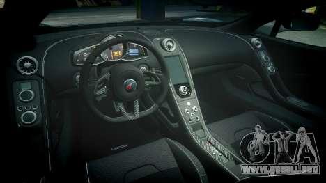 McLaren 650S Spider 2014 [EPM] Michelin v4 para GTA 4 vista interior