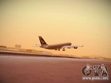 Airbus A340-300 Cathay Pacific para visión interna GTA San Andreas