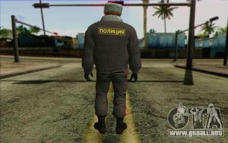 La policía rusa de la Piel 4 para GTA San Andreas segunda pantalla